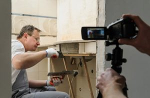 Industrial Video Production in progress